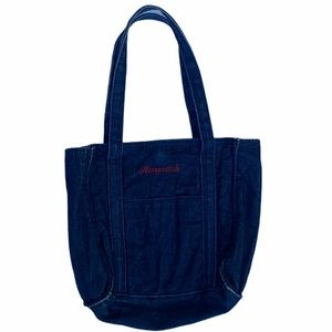 Aeropostale blue jean purse
